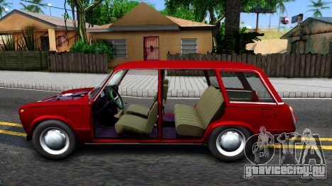 ВАЗ 2102 для GTA San Andreas вид слева