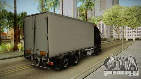 Iveco Stralis Hi-Way 560 E6 6x2 Cooliner v3.0 для GTA San Andreas вид сзади слева
