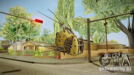 Fallout 4 DLC Automatron - Mechanist Eyebot для GTA San Andreas