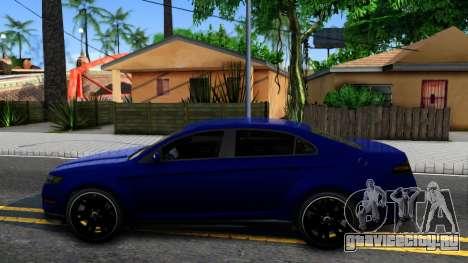 Elegant GTA V ImVehFt для GTA San Andreas вид слева