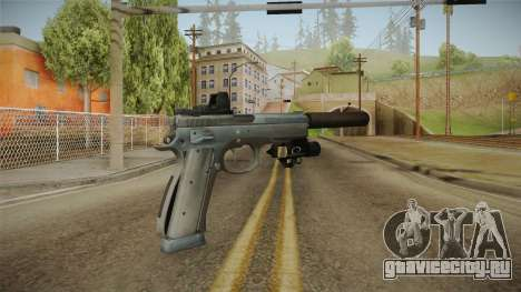Battlefield 4 - CZ 75 для GTA San Andreas второй скриншот