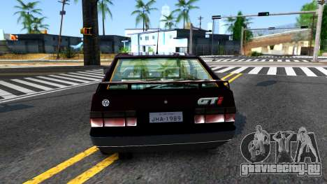 Volkswagen Gol GTI для GTA San Andreas вид сзади слева