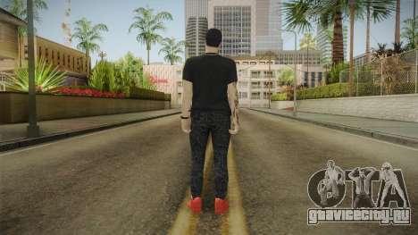 Anuel AA Gorra Versace для GTA San Andreas третий скриншот