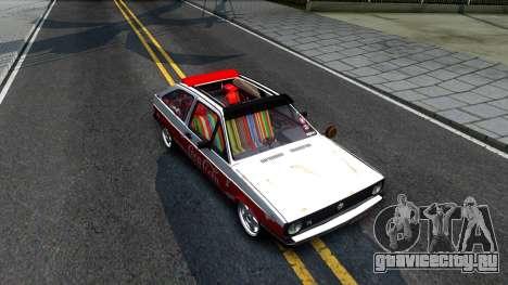 Volkswagen Gol Coca-Cola для GTA San Andreas вид справа