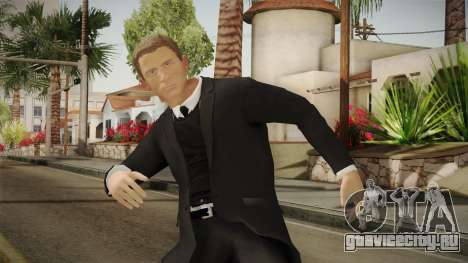 007 James Bond Daniel Craig Suit v1 для GTA San Andreas