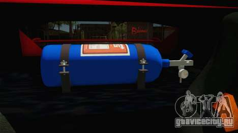 Cheetah Bielakworkshop для GTA San Andreas вид сбоку