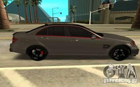 Brabus Bullit Coupe 800 для GTA San Andreas вид слева