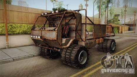 GTA 5 MTL Wastelander IVF для GTA San Andreas вид справа