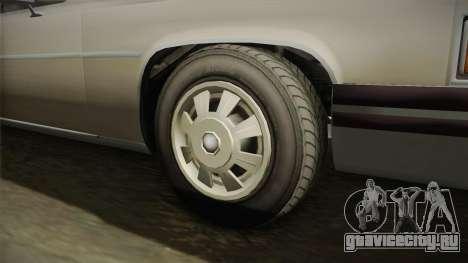 GTA 5 Albany Emperor Hearse для GTA San Andreas вид сзади