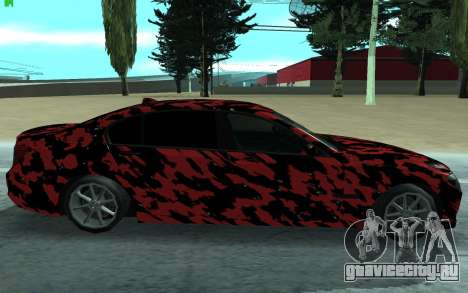 BMW 7-er 2016 для GTA San Andreas