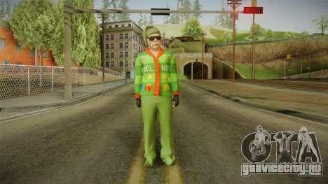 GTA 5 Special Christmas Skin для GTA San Andreas второй скриншот