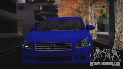 Nissan Maxima для GTA San Andreas вид слева