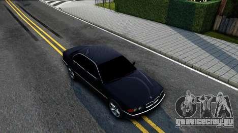 BMW 730i E38 для GTA San Andreas вид справа