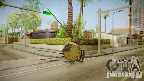 Fallout 4 DLC Automatron - Mechanist Eyebot для GTA San Andreas четвёртый скриншот