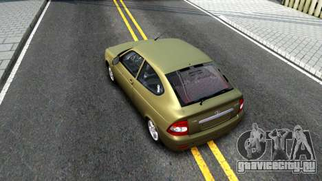 ВАЗ 21728 для GTA San Andreas вид сзади