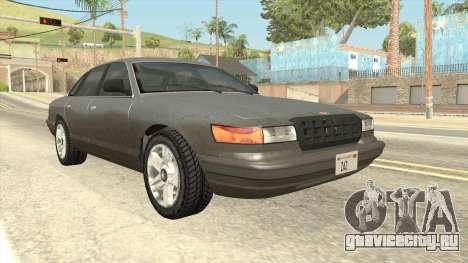 GTA 5 Vapid Stanier для GTA San Andreas