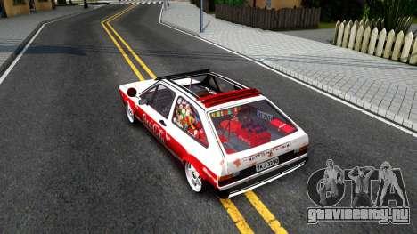 Volkswagen Gol Coca-Cola для GTA San Andreas вид сзади