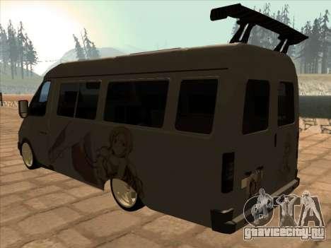 GAZ 32213 Japan DRIFT для GTA San Andreas вид справа
