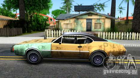 Derby Clover для GTA San Andreas вид слева