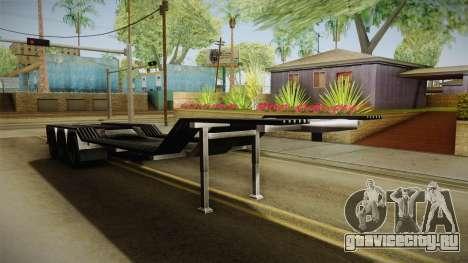American Multiple Carrier Trailer для GTA San Andreas вид справа