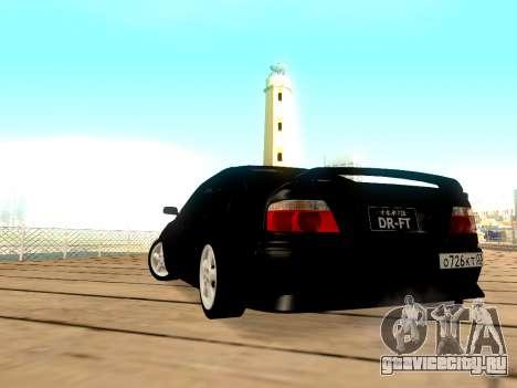 Toyota Chaser для GTA San Andreas вид слева