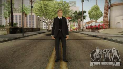 007 James Bond Daniel Craig Suit v1 для GTA San Andreas второй скриншот