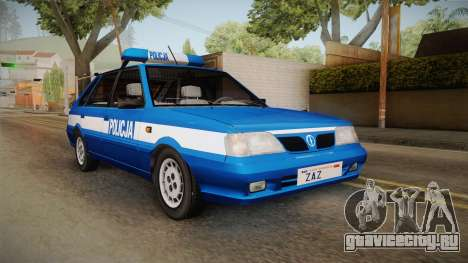 Daewoo-FSO Polonez Caro Plus Policja 1.6 GLi для GTA San Andreas