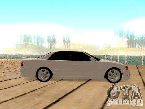 Toyota Chaser для GTA San Andreas вид справа