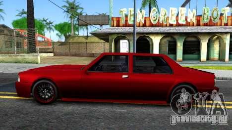 Vincent German Style для GTA San Andreas вид слева