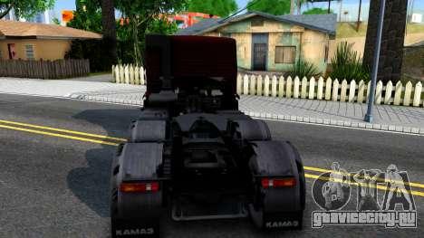 КамАЗ 65115 для GTA San Andreas вид сзади слева