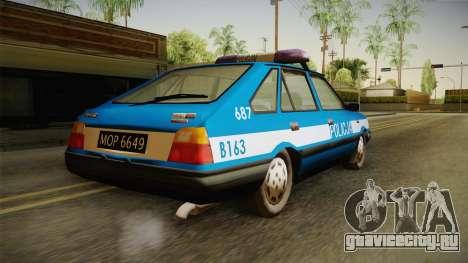 FSO Polonez Caro Policja для GTA San Andreas вид слева