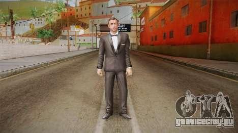 007 Sean Connery Cibbert Black Tuxedo для GTA San Andreas второй скриншот