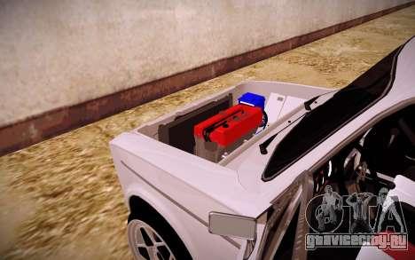ВАЗ 2106 КОРЧ для GTA San Andreas вид сзади