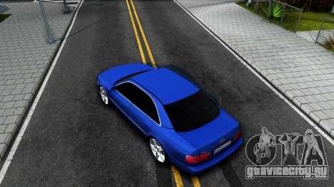 AUDI A8 Long 2002 для GTA San Andreas вид сзади