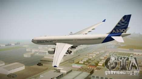 Airbus A330-300 F-WWKA для GTA San Andreas вид справа