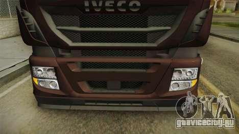 Iveco Stralis Hi-Way 560 E6 6x2 Cooliner v3.0 для GTA San Andreas вид сверху
