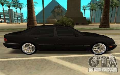 Mersedes Benz E420 для GTA San Andreas вид слева