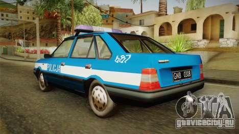 FSO Polonez Atu Policja для GTA San Andreas вид слева