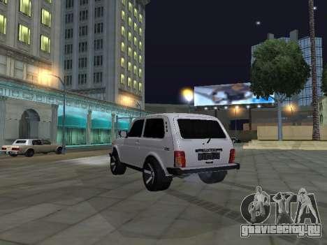 Vaz 2121 Stepanavan-Armenia для GTA San Andreas вид слева