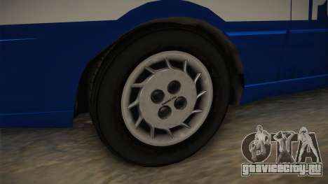 Daewoo-FSO Polonez Caro Plus Policja 1.6 GLi для GTA San Andreas вид сзади