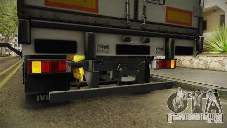 Iveco Stralis Hi-Way 560 E6 6x2 Cooliner v3.0 для GTA San Andreas салон
