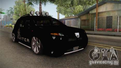 Dacia Duster Aventure Stance для GTA San Andreas