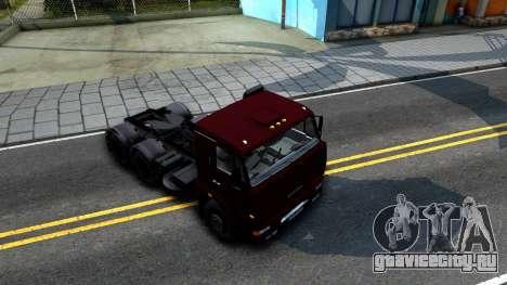 КамАЗ 65115 для GTA San Andreas вид справа