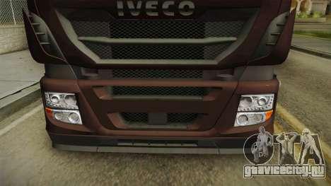 Iveco Stralis Hi-Way 560 E6 6x2 Cooliner v3.0 для GTA San Andreas вид сбоку