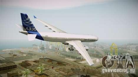 Airbus A330-300 F-WWKA для GTA San Andreas вид слева