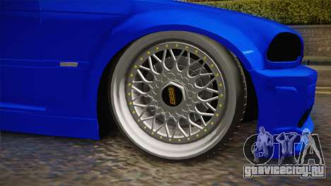 BMW 3 Series E46 Cabrio King для GTA San Andreas вид сзади