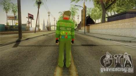GTA 5 Special Christmas Skin для GTA San Andreas третий скриншот