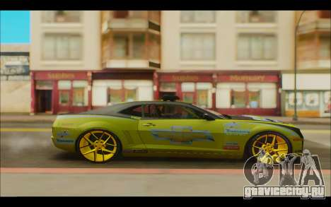 Chevrolet Camaro для GTA San Andreas вид слева
