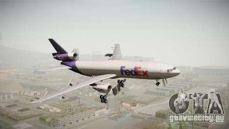McDonell-Douglas DC-10-30F Fedex для GTA San Andreas