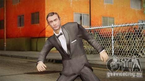 007 Sean Connery Cibbert Black Tuxedo для GTA San Andreas